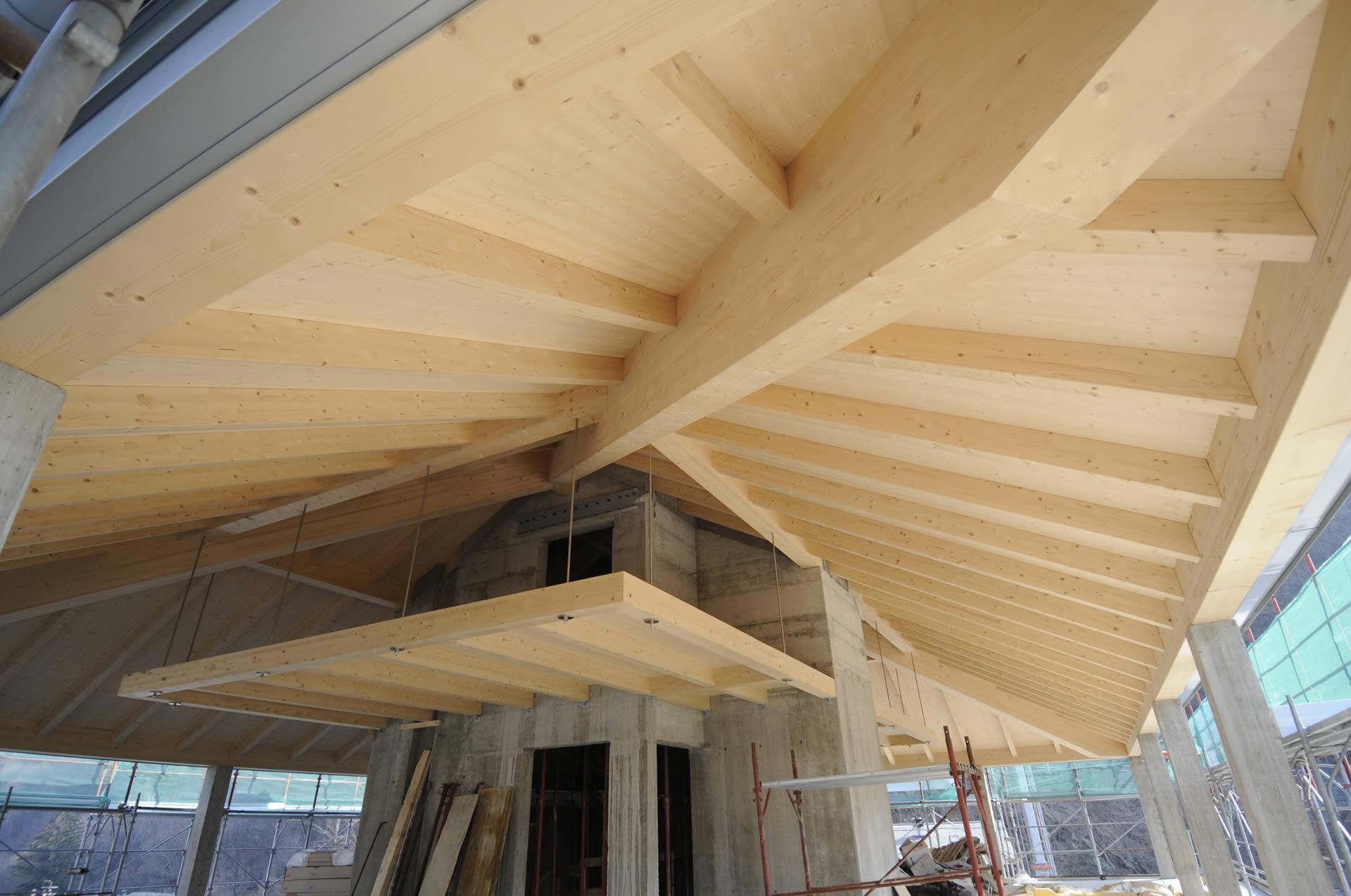 tetti case in legno